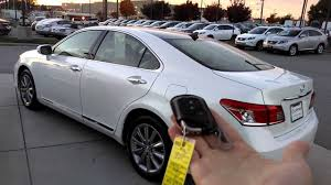 lexus key fob cover replacement lexus es350 smart key how to demo youtube