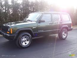 jeep cherokee sport 1997 moss green pearlcoat jeep cherokee sport 25247664 gtcarlot