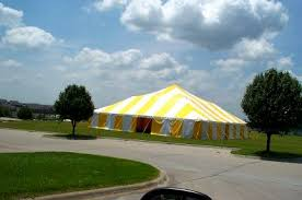 big tent rental big tents yellow white commercial pole tent kansas city mo