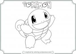 bulbasaur charmander squirtle coloring coloring pages