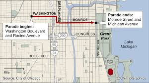 Chicago Bus Routes Map by Guide To The Blackhawks Stanley Cup Celebration Chicago Tribune