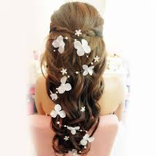butterfly hair stock 2015 bridal hair accessories handmade butterfly flower