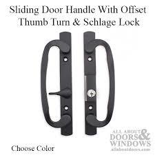 Sliding Glass Patio Door Hardware Sliding Glass Door Handleset Schlage Keyway Patio Door Handles