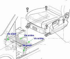 caisson basse sous siege installation d un caisson de basses lifié ksc sw1 touranpassion