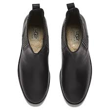 s ugg australia light grey bonham chelsea boots ugg australia s joey flat chelsea boots black clothing
