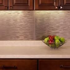 Fasade Backsplash Waves In Antique Bronze Kitchen Backsplash - Backsplash panel