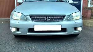 lexus is200 tuning uk is200 300 saloon and sportcross front bumper modifications