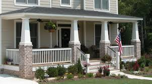Craftsman Style Architecture by Craftsman Style Pillars Thestyleposts Com