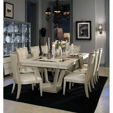 dining room curio 7 948 00 beverly blvd pearl caviar 10 pc rectangular dining set