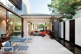 Home Design Companies Australia by Outdoor And Family Space In Glenbervie House In Australia By