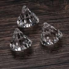 Diamond Beaded Curtain by 12pcs Acrylic Crystal Clear Diamond Bead Wedding Decors Chandelier