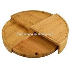 round bamboo flexible pizza board unique design round wood pizza