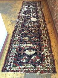 Antique Washed Rugs Antique Tribal Long Rug Probably Veramin With Terrific Drawing