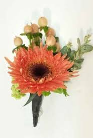 Coral Boutonniere Flowers To Wear Gallery Dahlia Floral Design