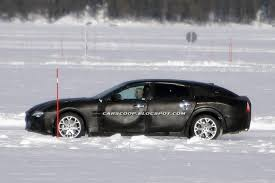 maserati snow spy shots new maserati quattroporte looks like it well get an a7
