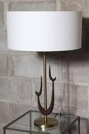 Sculpture Table Lamps V H Woolums Walnut Floor Lamps Art Deco U0026 Mid Century