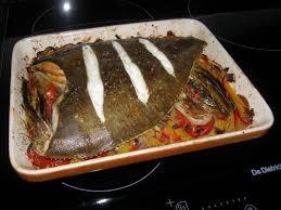 cuisiner le carrelet carrelet rôti sur lit de tian la recette du dredi