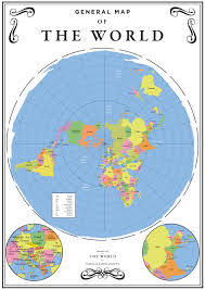 Lithuania World Map by The Ultimate Flat Earth Map Collection Aplanetruth Info