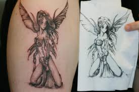 superb fairy tattoo design in 2017 real photo pictures images