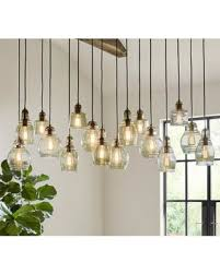Pottery Barn Lighting Pendant Save Your Pennies Deals On Pottery Barn Paxton Glass 16 Light Pendant