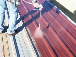 Recycle Laminate Flooring Sealing A Rusty Metal Roof