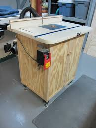 Router Cabinet by Router Table Cabinet By Doncutlip Lumberjocks Com