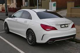 Mercedes Benz Sedan 2015 File 2014 Mercedes Benz Cla 250 C 117 Sport 4matic Sedan 2015