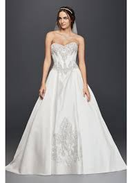 wedding corset satin corset gown wedding dress david s bridal
