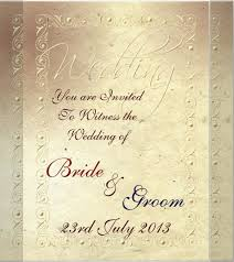 Free Sample Wedding Invitations 23 Handmade Wedding Invitation Templates U2013 Free Sample Example