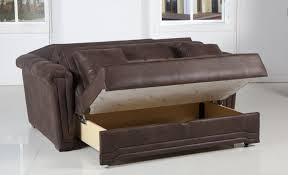 Leather Match Upholstery Sofa Brown Leather Sleeper Sofa Arresting Brown Leather