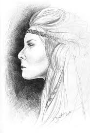 pictures in side view sketch drawing art gallery