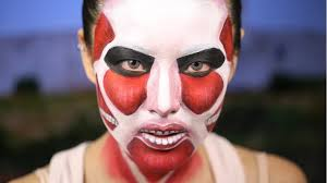 Saw Halloween Makeup by Attack On Titan Halloween Makeup Colossal Titan Youtube