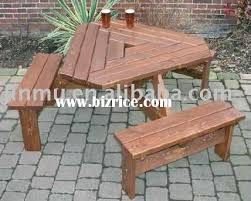 outdoor wooden folding picnic table front porch triangular table