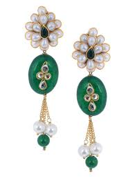 pachi earrings buy pachi work painted tanjore pendant necklace with pair of