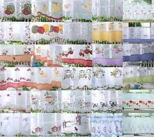 Curtains 240cm Drop Ready Made Voile Ready Made Net Curtains Ebay