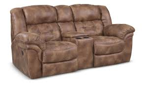 Dual Rocking Reclining Loveseat Furniture Loveseat With Console To Make A High Style For Your