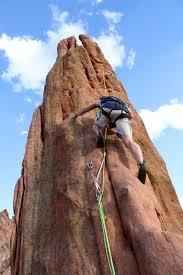 Rock Climbing Garden Of The Gods Adventures Of T