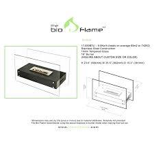 bio flame evoque bio ethanol fireplace u2013 ventless fireplace pros