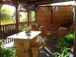 bungalow badamier near la preneuse beach in mauritius bungalow