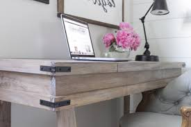 Whitewash Desk Creating A White Washed Weathered Oak Finish Video Tutorial For