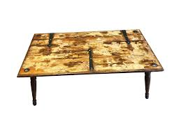 steampunk coffee table chairish