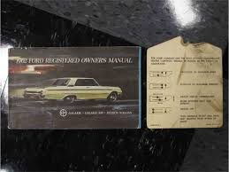 100 65 galaxie 500 manual auto brochure 1965 ford ford car