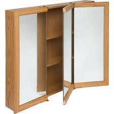 tri fold medicine cabinet hinges stylish zenith 24 oak tri view medicine cabinet 50 menards 30 is 74