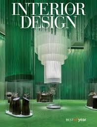 Interior Design Magazine Awards by Interior Design December 2016