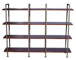 Metal Bookcases Mid Century Modern Chelsea Bookcase U2013 Mortise U0026 Tenon