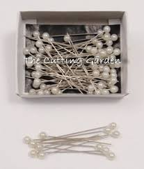 how to make corsages and boutonnieres lomey pearl white corsage boutonniere pins 2 pk 144