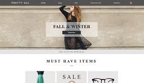 fashion u0026 clothing website templates online store wix