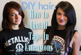 in hair extensions diy hair how to install in hair extensions bellatory