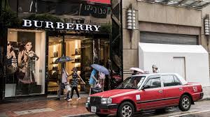digit drop in burberry s hong kong sales as tourism slump
