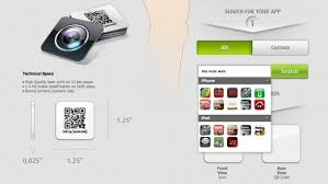 App For Scanning Business Cards 15 Stylish Social Media Business Cards Designs Business Card Maker